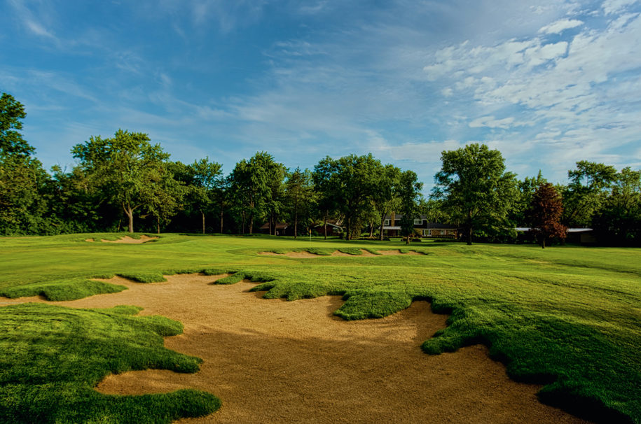 Flossmoor Golf Club - Hole #1